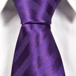 lila randig slips